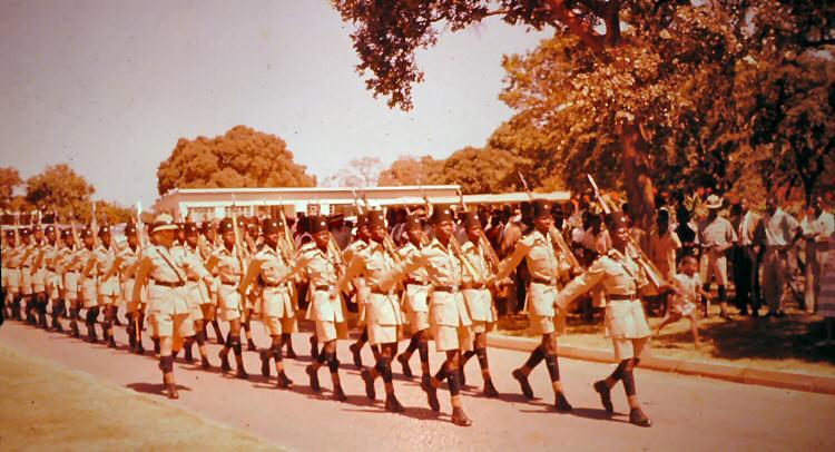 Colonial Kenya's Kings African Rifles